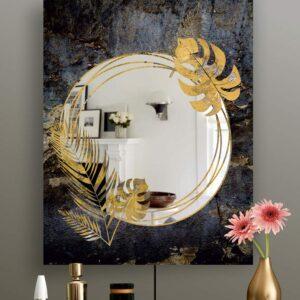 Διακοσμητικός καθρέπτης τοίχου με τεχνολογία ψηφιακής εκτύπωσης