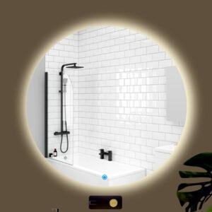 καθρέπτης στρογγυλός μπάνιου